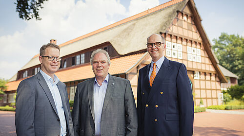 Lars Vorhusen, Siegbert Bullermann, Bernd Meerpohl